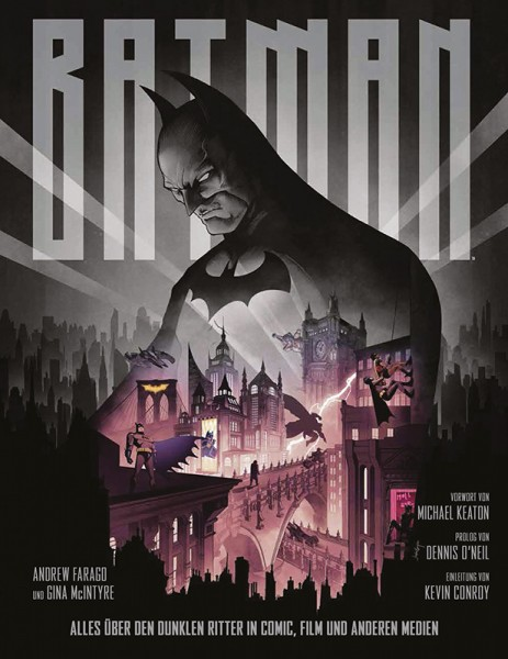 Batman: Alles über den Dunklen Ritter in Comic, Film und anderen Medien Cover