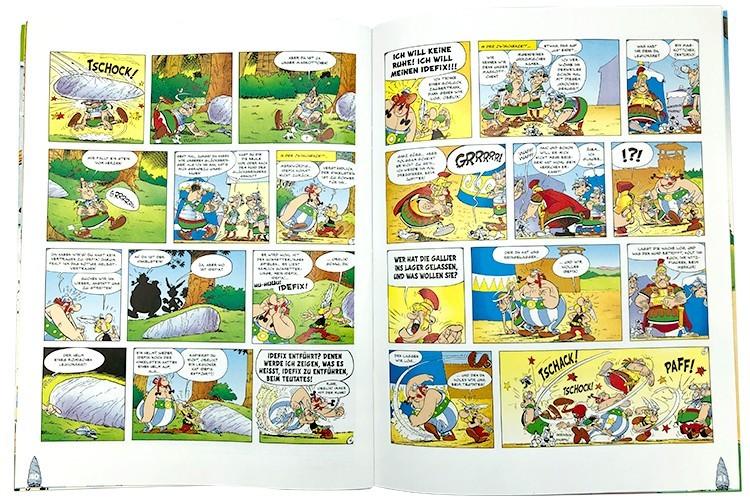 Asterix – 60 Jahre Abenteuer Blick ins Stickeralbum mit Comic