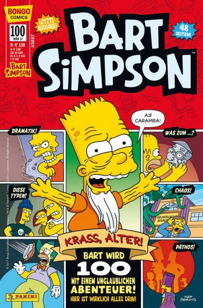 Bart Simpson Comics 100