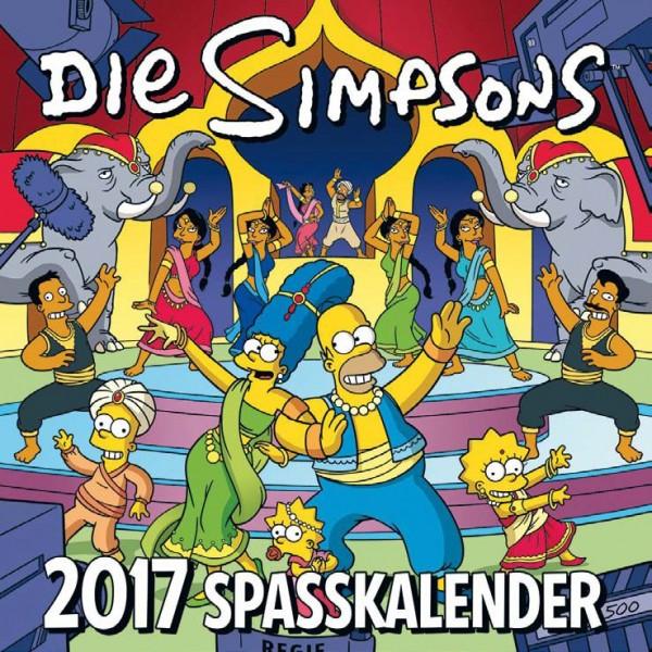 Simpsons - Wandkalender (2017)