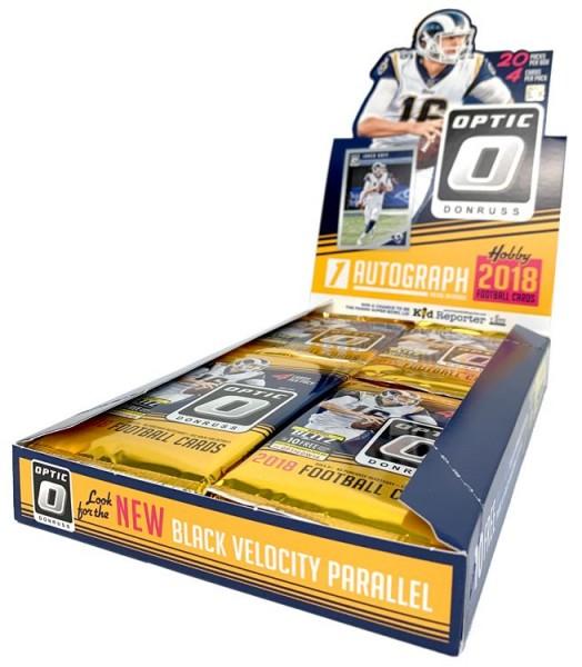 NFL 2018 DONRUSS Optic Football Trading Cards - Hobbybox