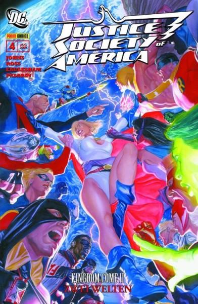 Justice Society of America 4 - Kingdom Come II - Zwei Welten