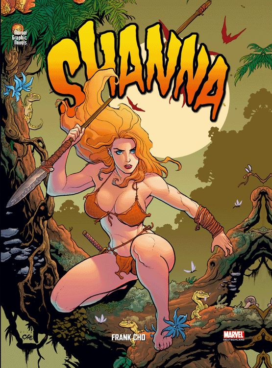 Frank Cho - Marvel Graphic Novels 9: Shanna