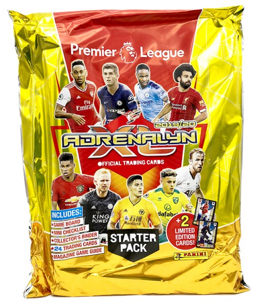 Panini Premier League Adrenalyn XL 2019/20 Kollektion – Starterset