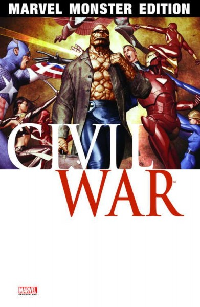 Marvel Monster Edition 20: Civil War 2