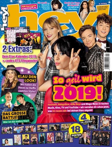 hey! Magazin 01/19