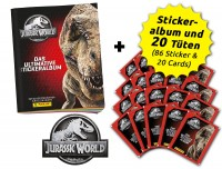 Jurassic World Anthology - Sticker und Cards - Sammelbundle