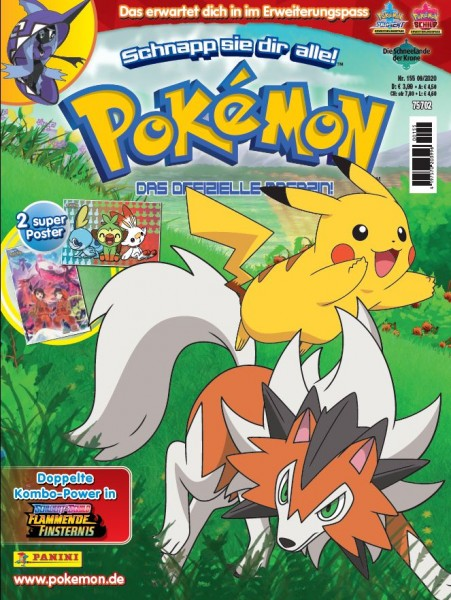 Pokémon Magazin 155 Cover Kids