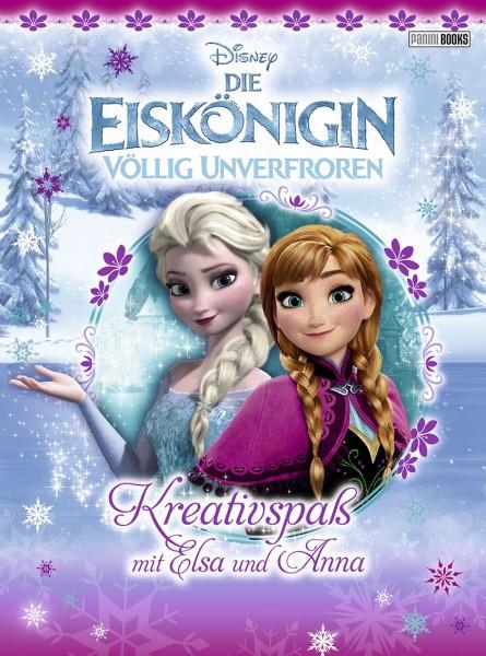 Disney: Die Eiskönigin - Kreativspaß mit Elsa und Anna