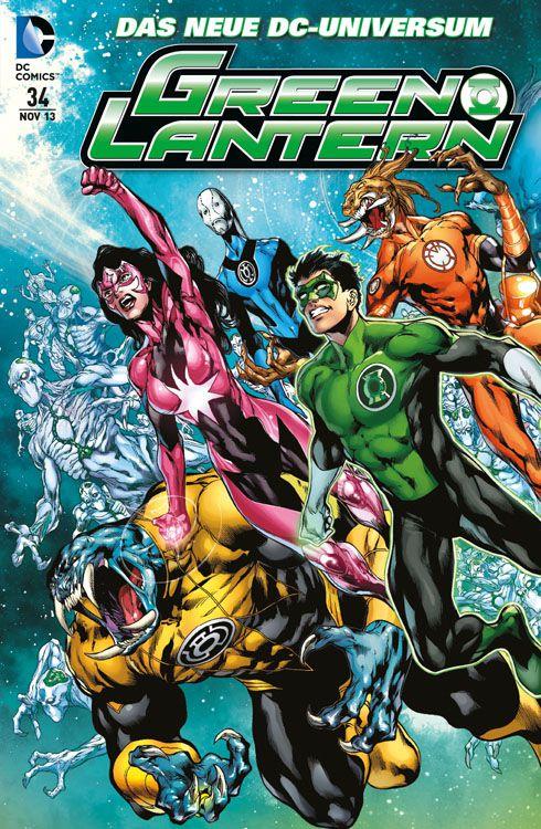 Green Lantern Sonderband 34