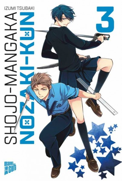 Shojo-Mangaka Nozaki-Kun 3 Cover
