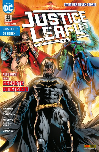 Justice League 11: Aufbruch in die sechsten Dimension!