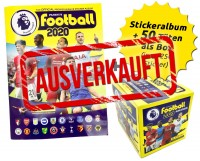 Premier League 2020 Stickerkollektion - Box-Bundle ausverkauft
