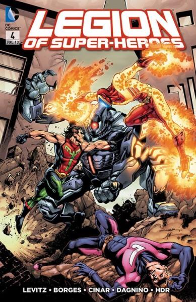 Legion of Super-Heroes 4