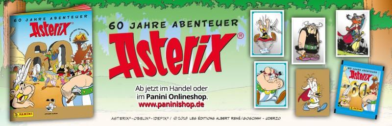 Asterix: 60 Jahre Abenteuer - Ab jetzt im Handel!