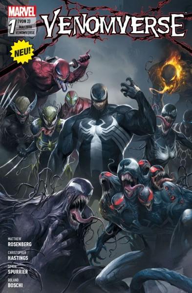 Venomverse 1: Die Liga der Monster