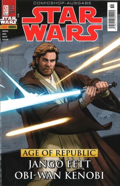 Star Wars 51: Age of Republic: Jango Fett & Obi-Wan Kenobi - Comicshop Ausgabe