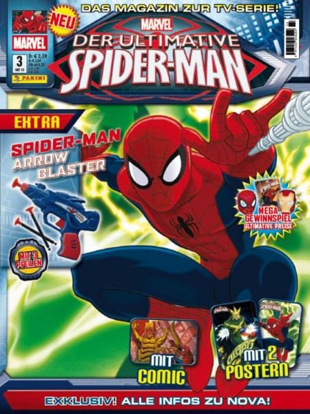 Der ultimative Spider-Man - Magazin 3