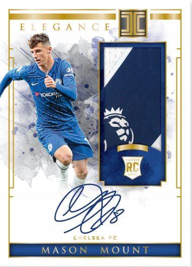 Panini Impeccable Soccer Premier League 2019/20 Trading Cards - Mason Mount