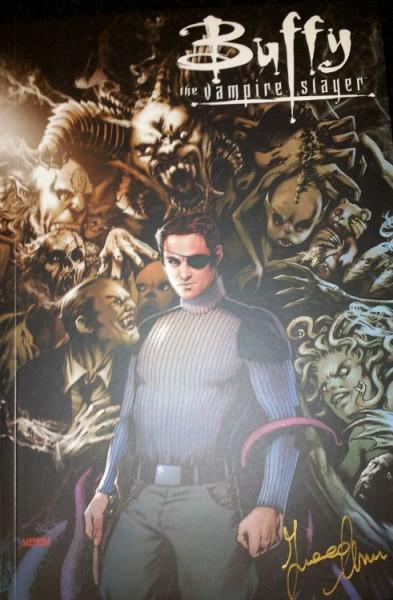 Buffy the Vampire Slayer - 9. Staffel 1: Im freien Fall Xander Variant signiert