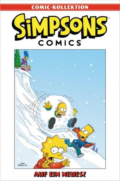 Simpsons Comic-Kollektion 21: Auf ein Neues! Cover