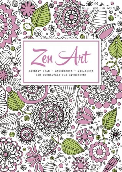 Zen Art 1 : Ein Ausmalbuch für Erwachsene