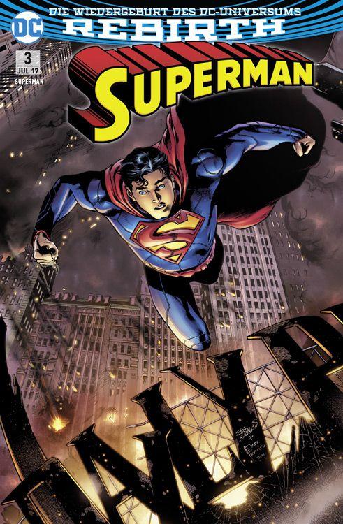 Superman 3 Variant - Comic Con Stuttgart