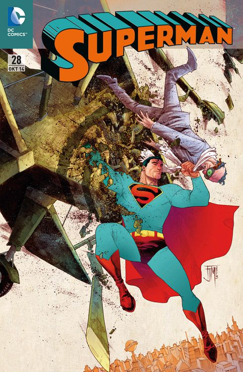 Superman 28 Variant - Comic Action 2014