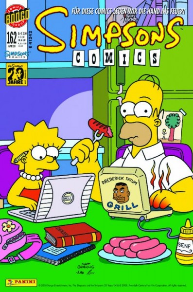 Simpsons Comics 162
