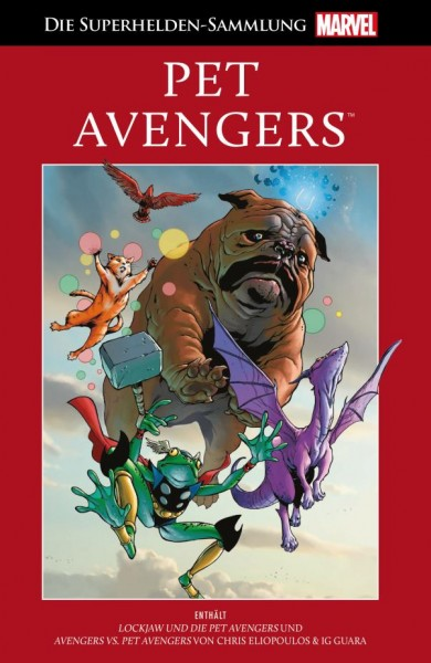 Die Marvel Superhelden Sammlung Band 70: Pet Avengers