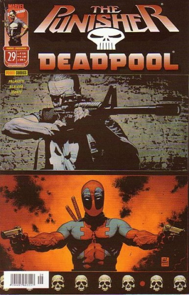 Marvel Crossover 29: Punisher vs. Deadpool