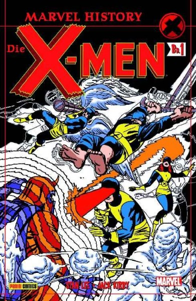 Marvel History: X-Men 1