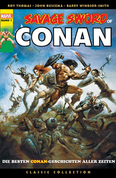 Savage Sword of Conan: Classic Collection 1 Cover