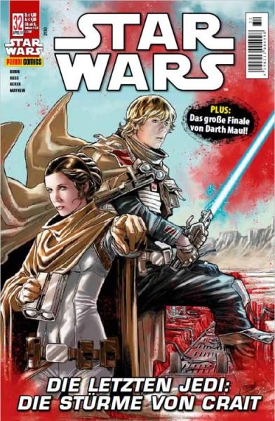 Star Wars 32: Darth Maul 5 / Die letzten Jedi: Die Stürme von Crait - Kiosk-Ausgabe