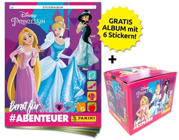 Disney Prinzessinnen: Bereit für Abenteuer Stickerkollektion – Sticker-Starter-Bundle