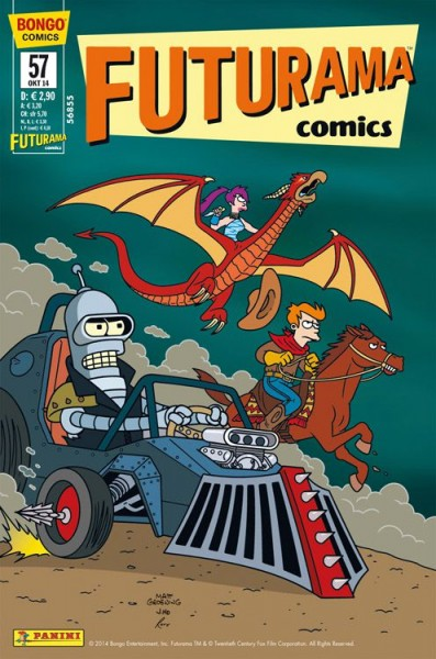 Futurama Comics 57