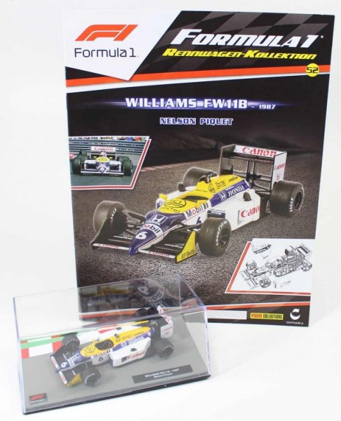 Formula 1 Rennwagen-Kollektion 52: Nelson Piquet (Williams F11b)