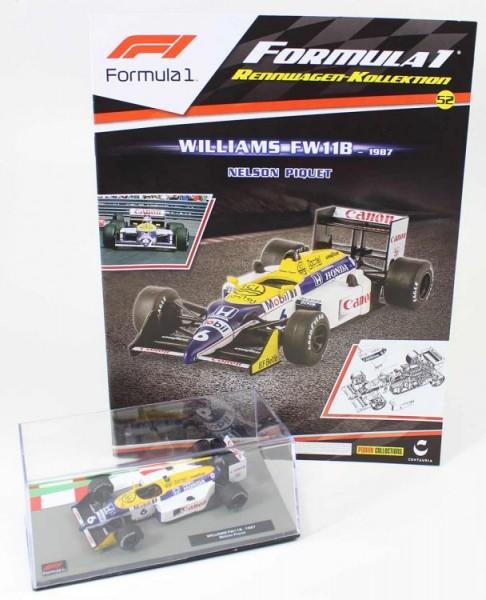 Formula 1 Rennwagen-Kollektion 52: Nelson Piquet (Williams F11B)