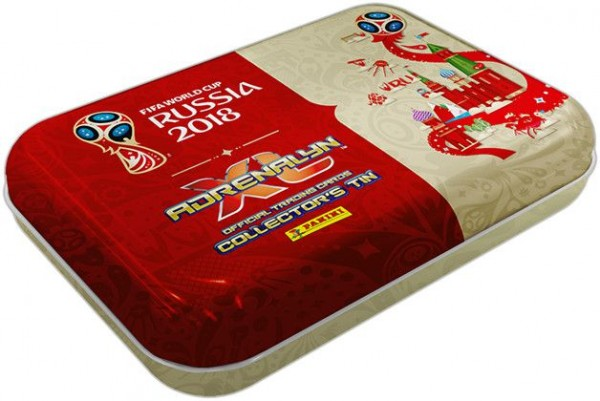 2018 FIFA World Cup Russia Adrenalyn XL - Pocket Tin