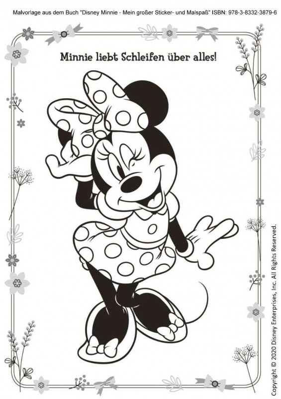 Disney Minnie Malspaß Vorschau