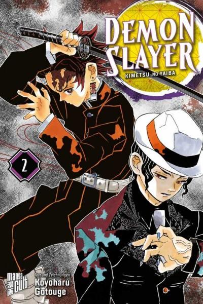 Demon Slayer - Kimetsu No Yaiba 2 Cover