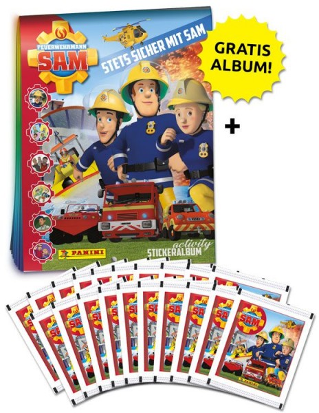 Feuerwehrmann Sam Stickerkollektion – Sammelbundle