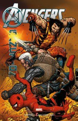Marvel Exklusiv 100: Avengers X-Sanction Variant B - Comic Action 2012