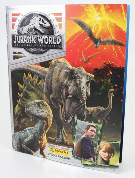 Jurassic World Movie Stickerkollektion - Stickeralbum