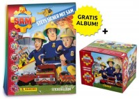 Feuerwehrmann Sam Stickerkollektion – Sticker-Starter-Bundle