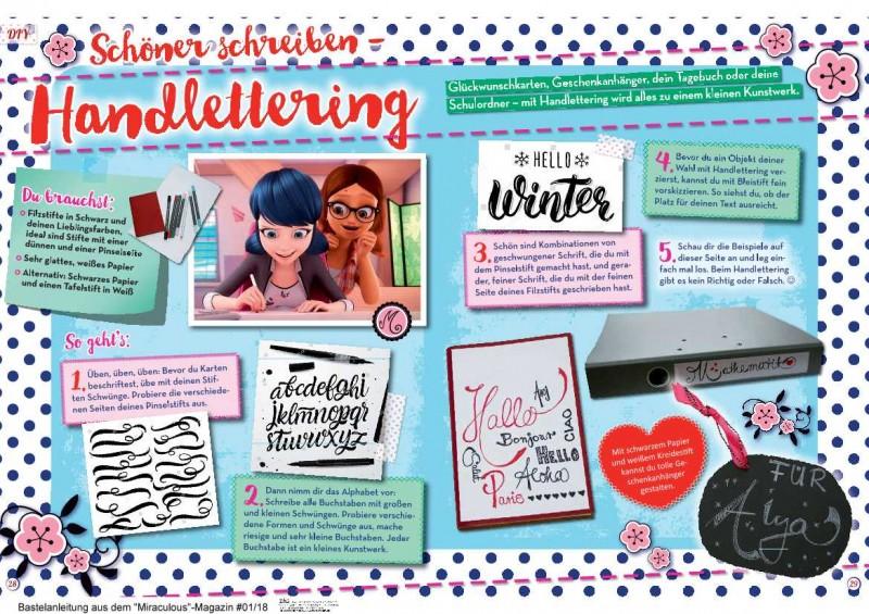 Schön Schreiben - Handlettering mit Marinette