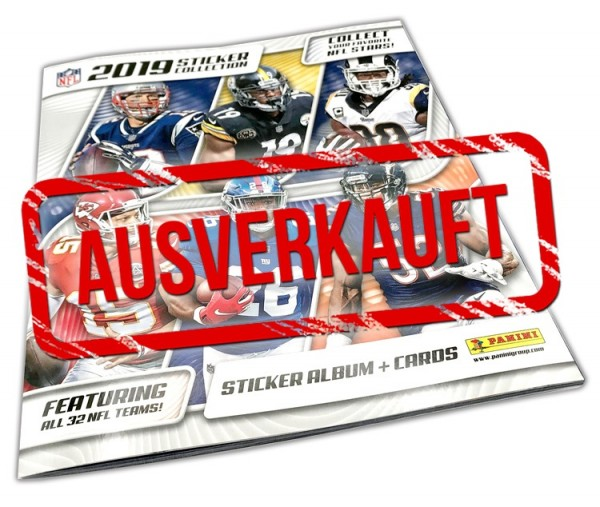NFL 2019 Sticker & Trading Cards - Album