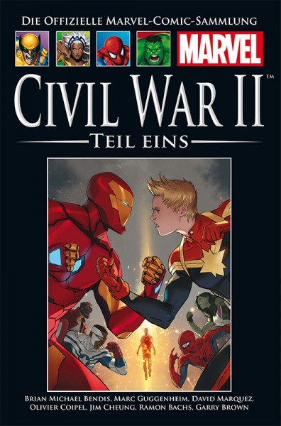 Hachette Marvel Collection 187: Civil War II, Teil 1 Cover