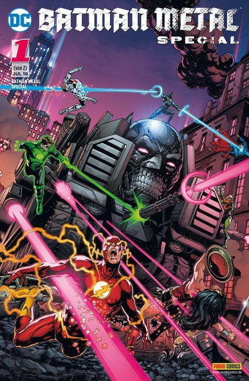 Batman Metal Special: Der Aufstieg...