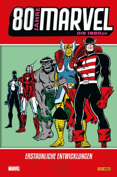 80 Jahre Marvel: Die 1980er - Erstaunliche Entwicklungen Cover